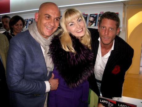 Massimiliano Piccinno, Erika Gottardi e Lapo Elkann