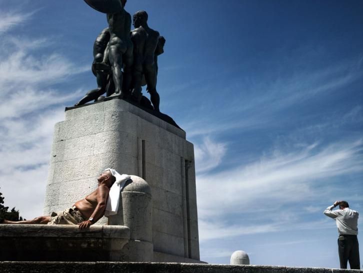 5. © Daniele Dainelli/Contrasto Monumento ai caduti della Prima guerra mondiale, Colle di San Giusto, Trieste 2007