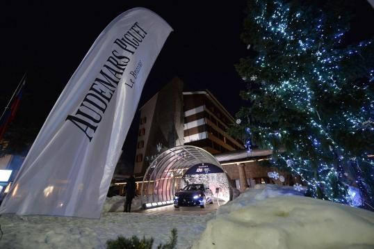 Audemars Piguet Snow Golf Exhibition