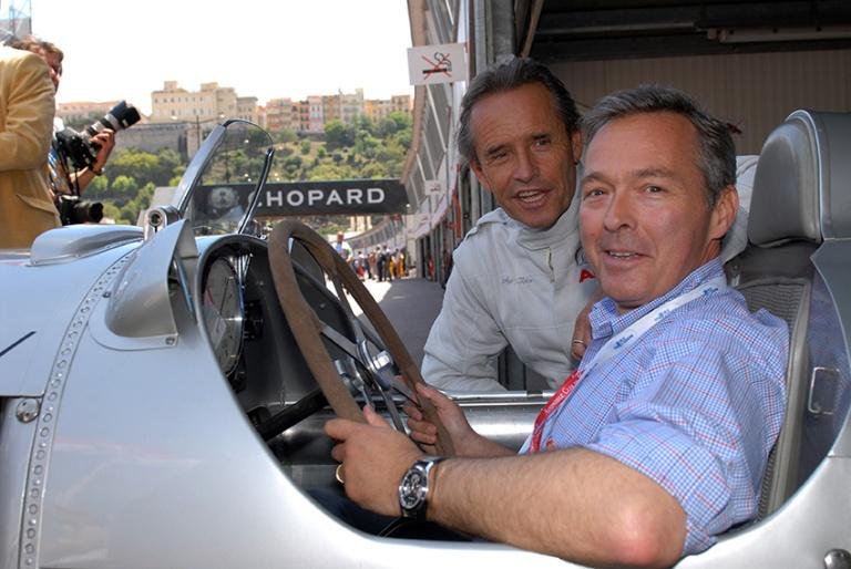 Jacky Ickx und Karl-Friedrich Scheufele in Auto Union C-type