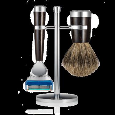 set-rasatura-ebano-pelo-di-tasso-silver-fusion