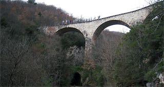 Il tracciato della Vecchia Ferrovia