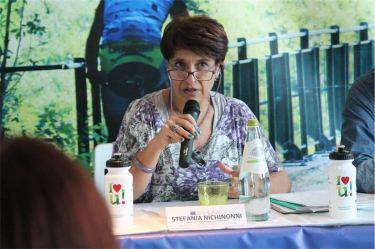 La dr.ssa Nichinonni del Comune di Spoleto