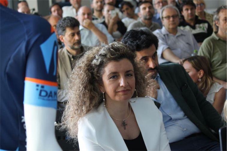 La vice sindaca di Spoleto Maria Elena Bececco