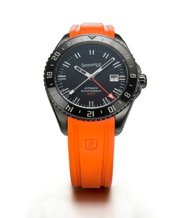 1 Scafograf GMT The Black Sheep - Orange - Eberhard & Co.