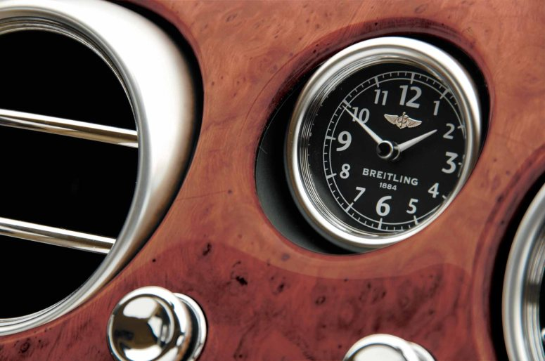 Breitling onboard clock for the Bentley Continental GT (PPR/Breitling)