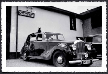 Willy Breitling's Bentley Mark VI early 1950s (PPR/Breitling)