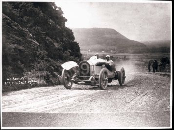 W.O. Bentley driving the 3 Litre at the 1922 TT (PPR/Breitling)