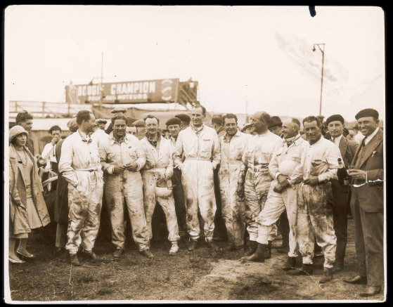 Bentley Boys winning drivers from Le Mans 1929 (PPR/Benntley)