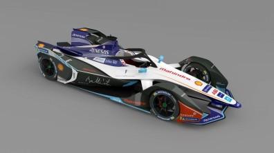 Formula E car render. Credit Mahindra Racing-Automobili Pininfarina