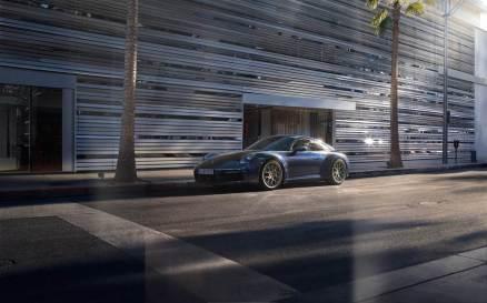Nuova Porsche 911 inaugurazione Roma