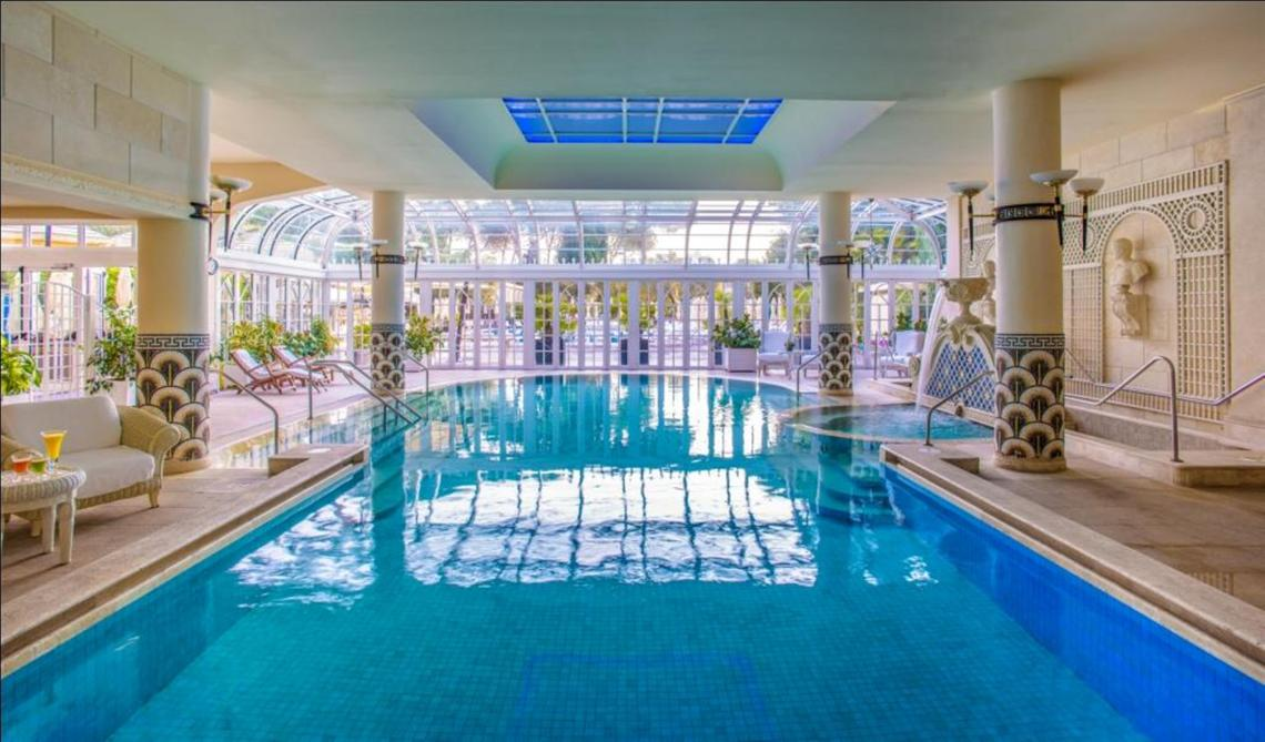 Indoor pool daytime